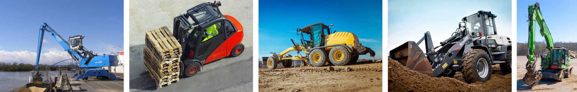 Landmaschinen, Baumaschinene, Hydraulik - Reparatur und Ersatztzeile.