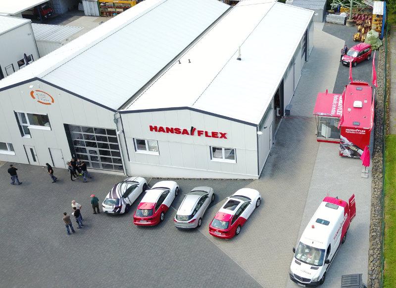 Hansaflex - neue Räumlichkeiten im Businesspark der TP group.