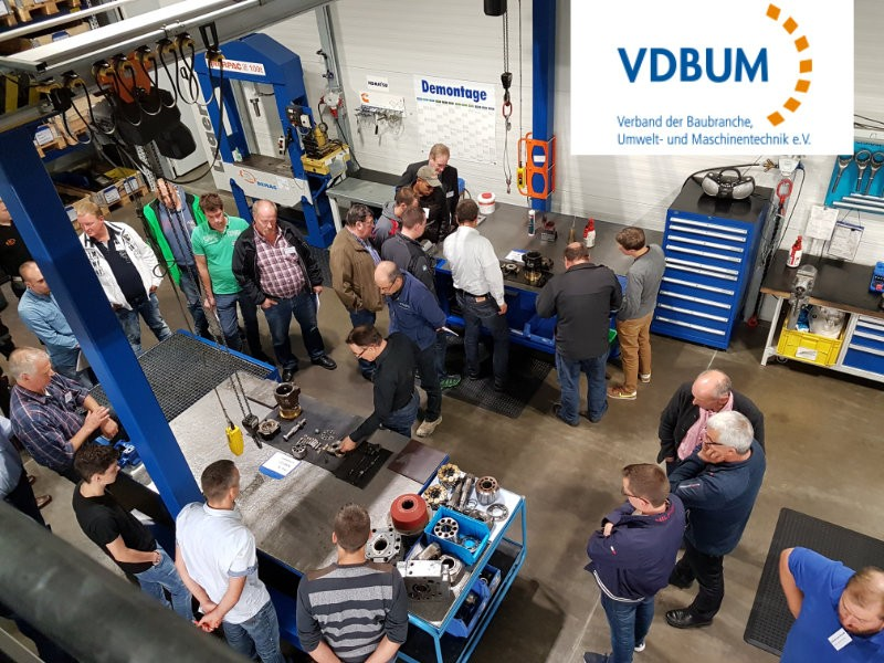 Abendveranstaltung VDBUM - Verband der Baubranche, Umwelt- und Maschinentechnik e.V.