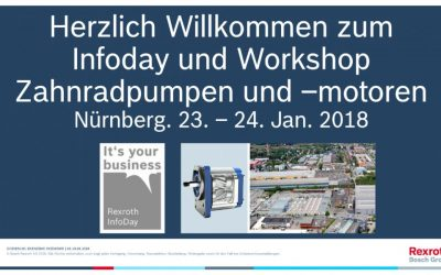Workshop Zahnradpumpen und -motoren in Nürnberg