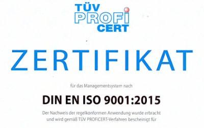 ISO-Zertifizierung
