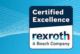 Certified Excellence Partner der Rexroth Company
